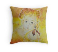 Saphira - the fairy of dreams Throw Pillow