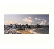 Morecambe Seafront Art Print