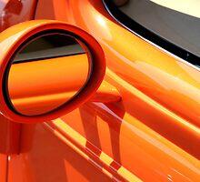 Orange Reflection by starlitewonder