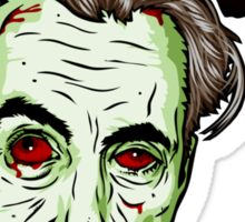Zombie Head Sticker