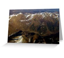 Italian Alps (Summer)... Greeting Card