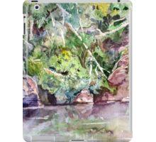 Abram's Creek - Impressionistic Watercolor Landscape iPad Case/Skin