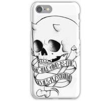 Devils Playground iPhone Case/Skin