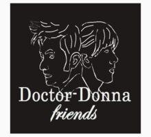 """Doctor Donna- friends"" Kids Tee"