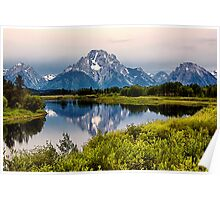 Mount Moran Reflection (2) Poster