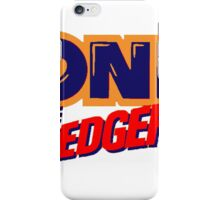 Sonic the Hedgehog Logo iPhone Case/Skin