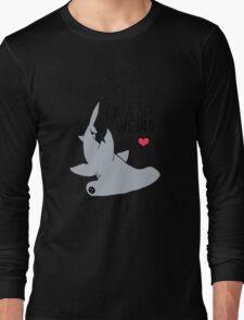 Weird Hammerhead Shark - Shark Love Long Sleeve T-Shirt