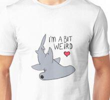 Weird Hammerhead Shark - Shark Love Unisex T-Shirt