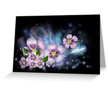 Flower fantasy Greeting Card