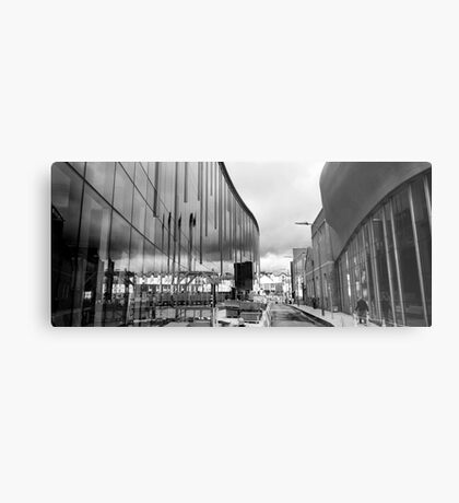 Reflection on Half Moon Street Metal Print