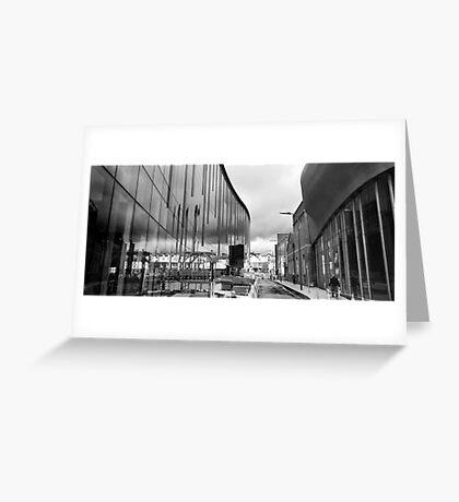 Reflection on Half Moon Street Greeting Card