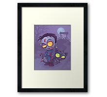 Pet Cemetery Framed Print
