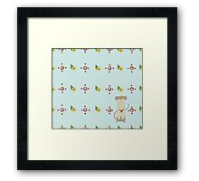 Ratty crown Framed Print