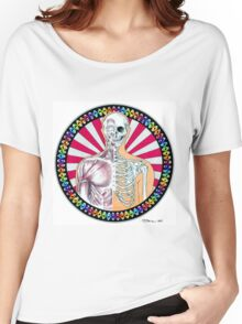 Psychedelic Anatomy  Women's Relaxed Fit T-Shirt
