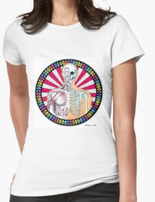Psychedelic Anatomy  Womens Fitted T-Shirt