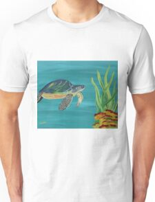 The turtle - Underwater series 1 Unisex T-Shirt