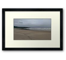Lonely Coast Framed Print