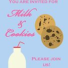 Milk & Cookies Invite by CreativeEm