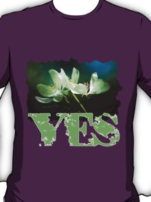Apple Blossom - Two Flowers T-Shirt