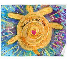 Trust Sacred Heart Poster