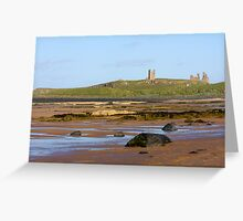 The magnificent coastline of Northumberland Greeting Card