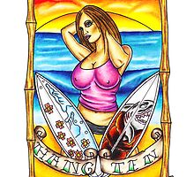 Hang Ten by Tat2Tim