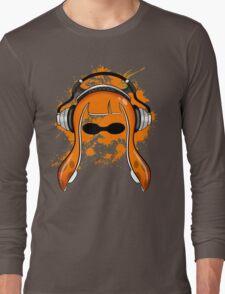 Inkling girl (Orange) Long Sleeve T-Shirt