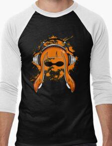 Inkling girl (Orange) Men's Baseball ¾ T-Shirt