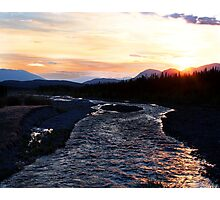 2:30 am Sunrise on Quill Creek Photographic Print