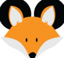 The Disney Fox Sticker