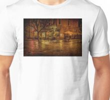 Rain On The Cobblestones Of Greenwich Village Unisex T-Shirt