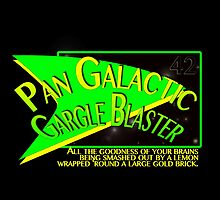 Fictional Brew - Pan Galactic Gargle Blaster by Amanda Mayer