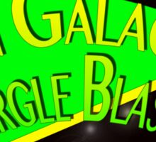 Fictional Brew - Pan Galactic Gargle Blaster Sticker