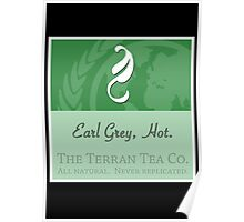 Fictional Brew - Earl Grey, Hot. Poster