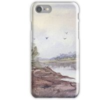Seabreeze - Impressionistic Watercolor Painting iPhone Case/Skin