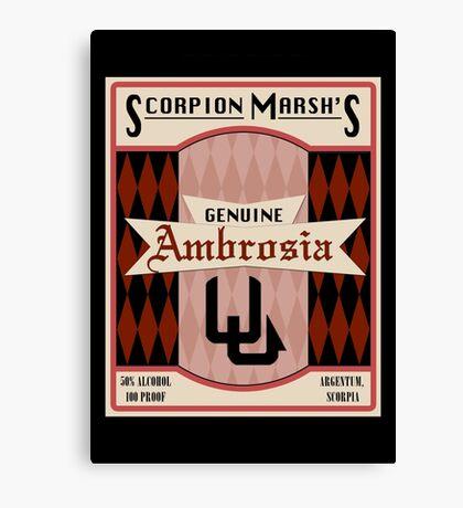 Ambrosia - So Say We All Canvas Print