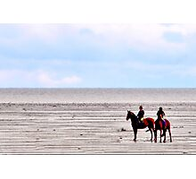 Horseback Riding Photographic Print