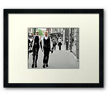 Paris Runway Framed Print