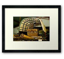 1820 Wagon Framed Print
