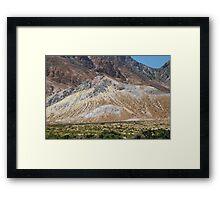 Volcanic rocks, Nisyros Framed Print