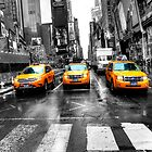 Yellow Taxi by Paul Thompson Photography