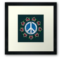 Beetle Peace Framed Print