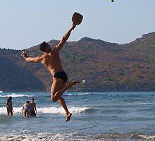 Extreme beach racket play by Basiliss