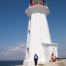 Lighthouse at Peggy's Cove by Marlene Hielema