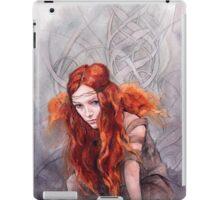 Warrior In Winter iPad Case/Skin