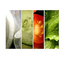 Salad Bowl Stories Photographic Print