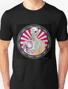 Psychedelic Anatomy Black T-Shirt