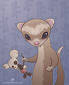 Fizzy The Ferret by fizzgig