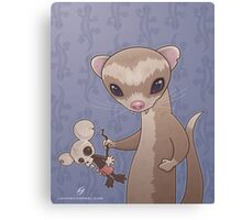 Fizzy The Ferret Canvas Print