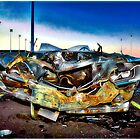 Smashed Car #1 by Mark Ross